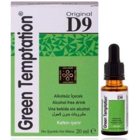 Original Green Temptation D9 Damla 20 ml